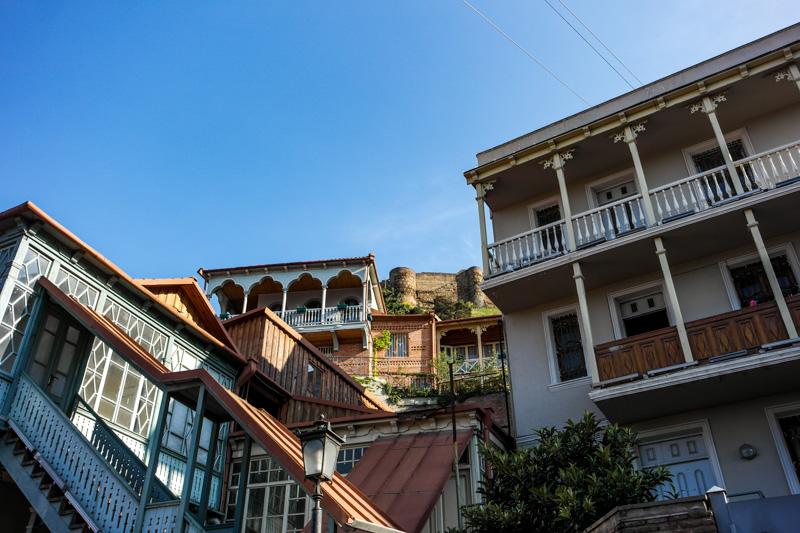شهر قدیمی دیدنی تفلیس
