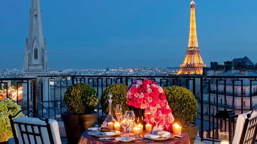 هتل پاریس سفر به پاریس