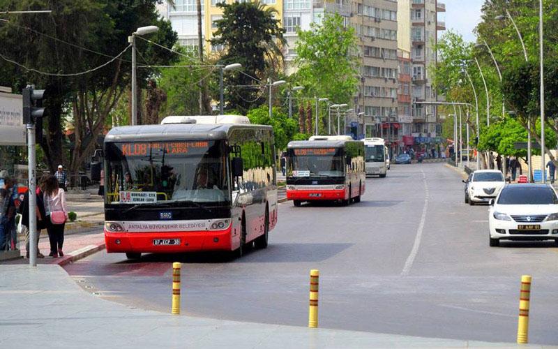 اتوبوس فرودگاه آنتالیا - علی بابا