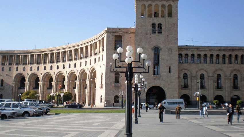 میدان جمهوری ایروان، ارمنستان
