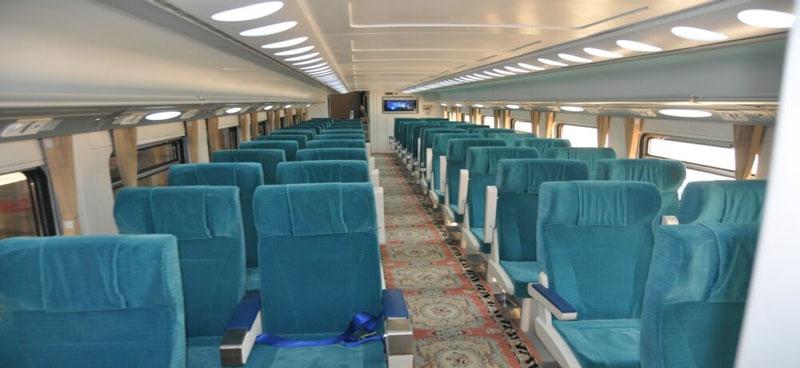 قطار اتوبوسی صبا به مشهد