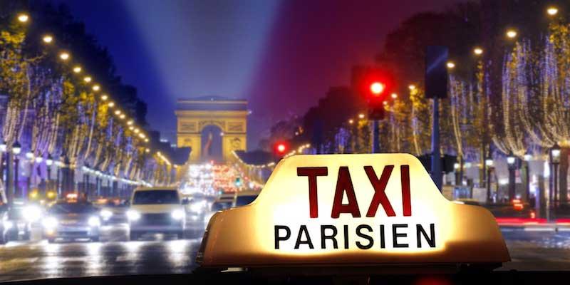 تاکسی پاریس سفر به پاریس